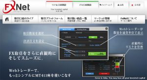 FXNETの取引概要や提供サービスの評価