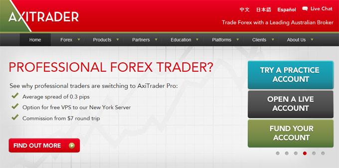 Axitraderの入金システム出金システム