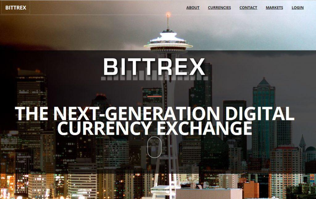 【取引所】Bittrexの口座開設方法、入金方法