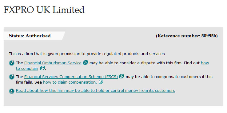FXPROの安全性は高い。英FCAライセンスや投資家補償基金に加入している