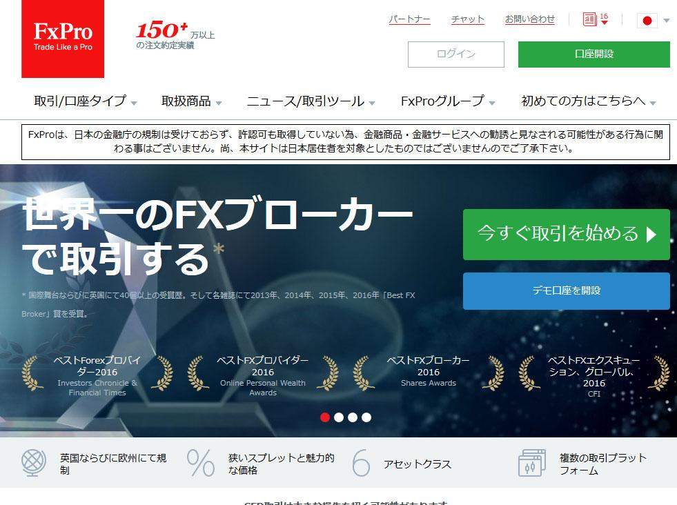 FXPROの取引概要やサービス内容などの評価してみます