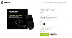 【重要】TREZOR(トレザー)の購入はZAIFのamazon店が早くて便利
